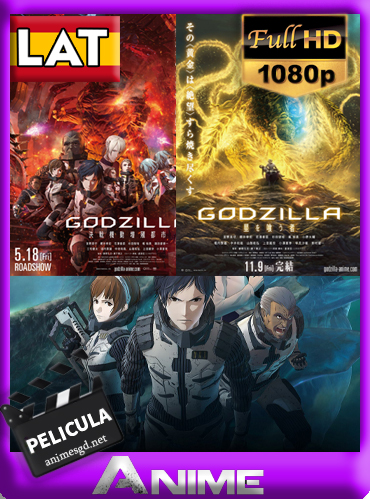 Godzilla: Trilogía (2017-2018)[1080P][Latino][GoogleDrive][Darksider21]
